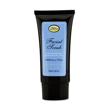 The Art Of Shaving Facial Scrub - Peppermint Essential Oil (For Sensitive Skin)