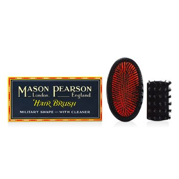 Mason Pearson Boar Bristle - Small Extra Military Pure Bristle Medium Size Hair Brush (Dark Ruby)