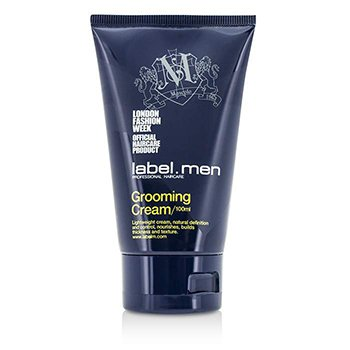 Label.M Mens Grooming Cream (Lightweight Cream, Natural Definition and Control, Nourishes, Builds Thickness and Texture)