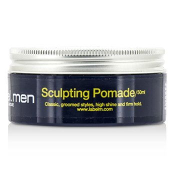 Label.M Mens Sculpting Pomade (Classic, Groomed Styles, High Shine and Firm Hold)