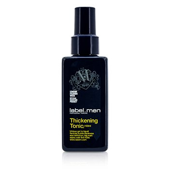 Label.M Mens Thickening Tonic (Unique Gel to Liquid Formula Builds Thickness and Definition For Big Matt Styles with Firm Hold)