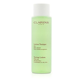 Clarins Toning Lotion with Iris - Combination or Oily Skin