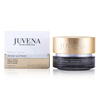 Juvena Prevent & Optimize Night Cream - Sensitive Skin