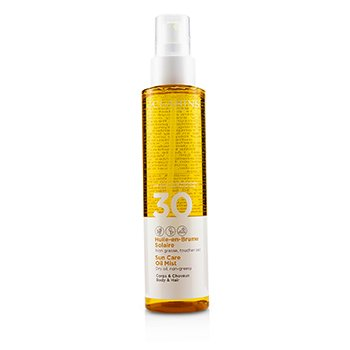 Clarins Sun Care Oil Mist For Body & Hair SPF 30