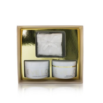 Eve Lom Rescue Ritual Gift Set: Cleanser 100ml + Rescue Mask 100ml + Muslin Cloth
