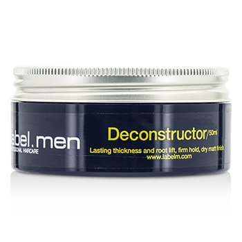 Label.M Mens Deconstructor (Lasting Thickness and Root Lift, Firm Hold, Dry Matt Finish)